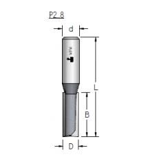 Фреза пазовая прямая wpw P230952