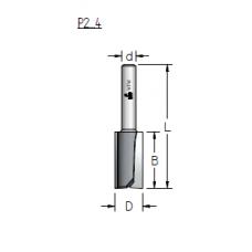 Фреза пазовая прямая wpw P210203